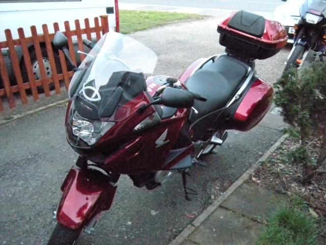 My Honda NT700AV Deauville
